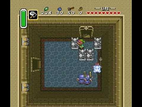 Zelda A Link to the Past - Hyrule Castle