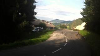 Rallye du Mont blanc 2015 Crash