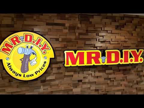 Mr. DIY Store Tour/Walkthrough - Sungei Wang Plaza, Kuala Lumpur, Malaysia - Mr. D.I.Y.