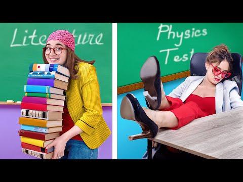 Типы преподавателей / Злая учительница против доброй!
