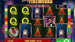 Fancy Fireworks Online Slots Free Spins Bonus