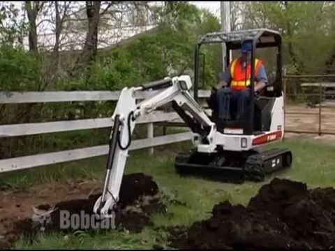 FOR HIRE Warragul PH 0356 235005 - Bobcat Excavator Safety