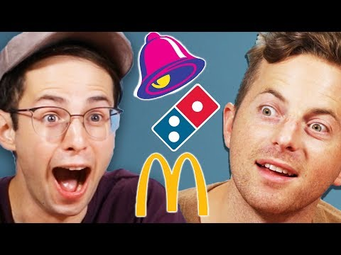 Try Guys Drunk Vegan Fast Food Taste Test