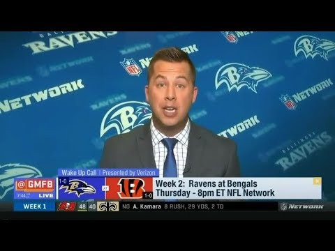 Week 2: Ravens at Bengals - Who will win? | Good Morning Football Today