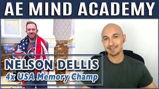 🔥 Nelson Dellis 4x USA Memory Champ - AI, Alzheimer's, Memory Improvement, Science, The Universe
