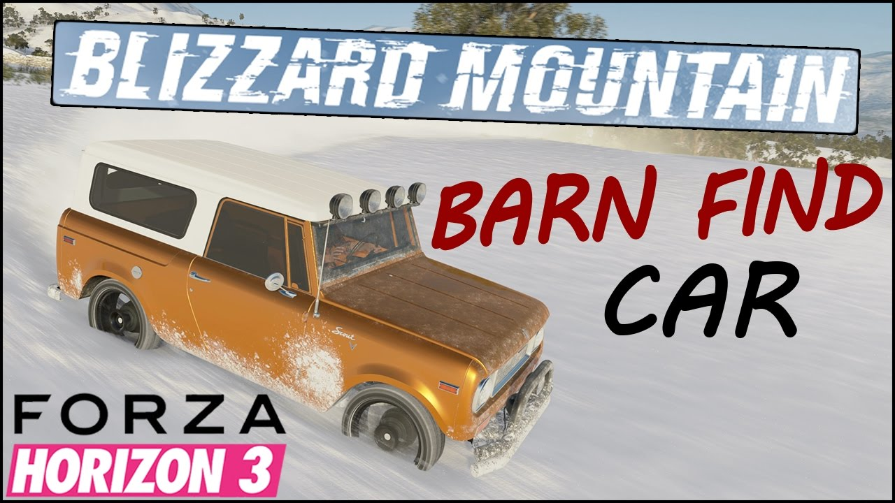 Blizzard Mountain Barn Find Car