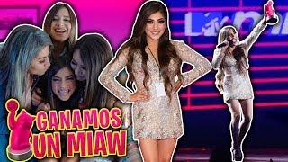 Ganamos en los premios MTV Miaw | Fue una locura