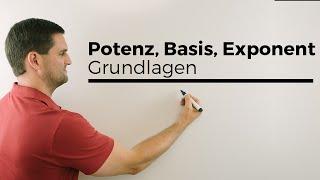 Gambar cover Potenz, Potenzen, Basis, Exponent, Grundlagen | Mathe by Daniel Jung