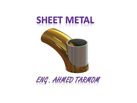 SolidWorks 14 - meng102 - Sheet metal