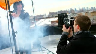 Photoshoot with Eric Nally of Foxy Shazam (Scene from LJVSJL Tutorial)