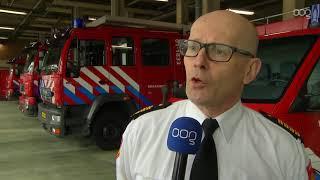 Flink meer meldingen voor Groninger brandweer in 2018