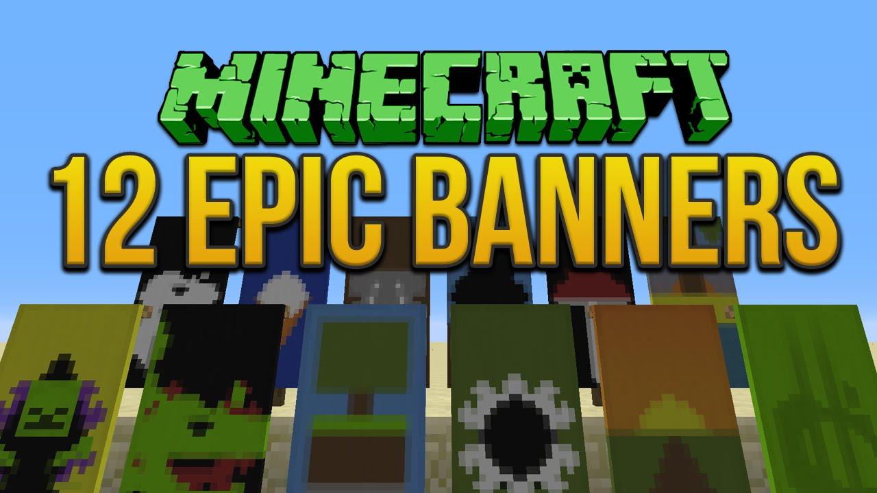 Minecraft Cake Banner Designs