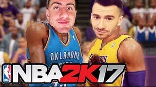 NBA 2K17 - CHADWITHAJ VS ITSYEBOI