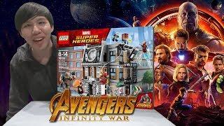 ต่อเลโก้ Avengers Infinity War โคตรใหญ่อลังการ!!!【LEGO: Sanctum Sanctorum Showdown】