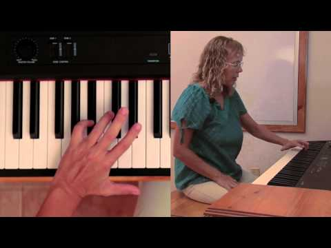 Old McDonald Had a Farm - piano lesson - with chords