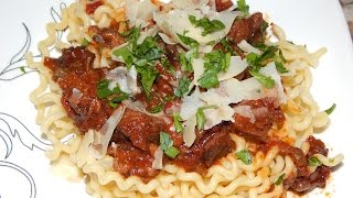 Braised Short Rib Ragu - Beef Ragu Recipe- Short Ribs Recipe