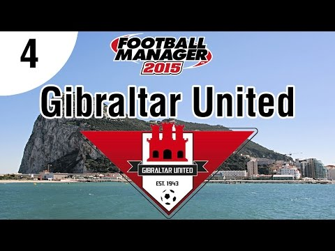 Football Manager 2015 | Gibraltar United FC | Part 4 - Division 2 League Cup Final