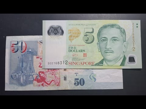 Singapore's current banknotes