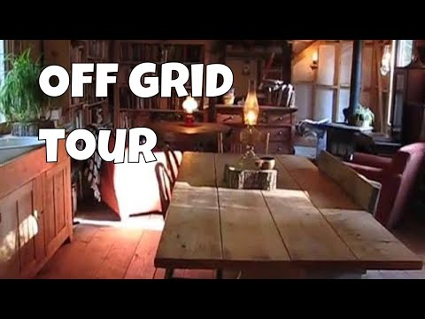 Off Grid Cabin Tour