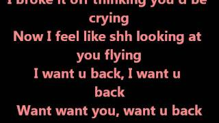 Cher Lloyd - Want u back (lyrics)