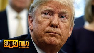 Chuck Todd: We Saw Trump 'Sweat' Over The Mueller Probe This Week | Sunday TODAY