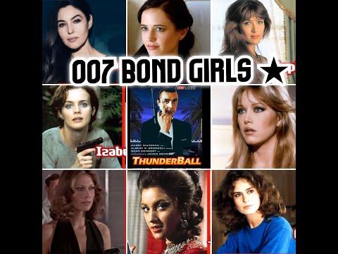 007시리즈 역대 본드걸  --007 BondGirls Now and Then