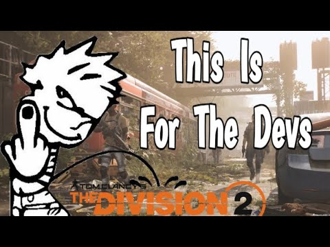 The Division 2 - This is for the devs |