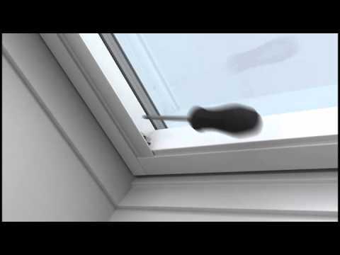 Usædvanlig Mørklægningsgardin - montering - YouTube PF62