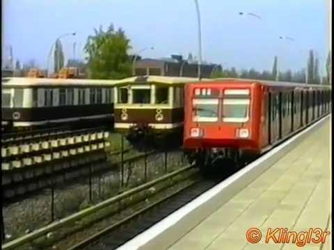 S-Bahn Berlin - historische Aufnahmen - Megamix Anfang der 90er und später