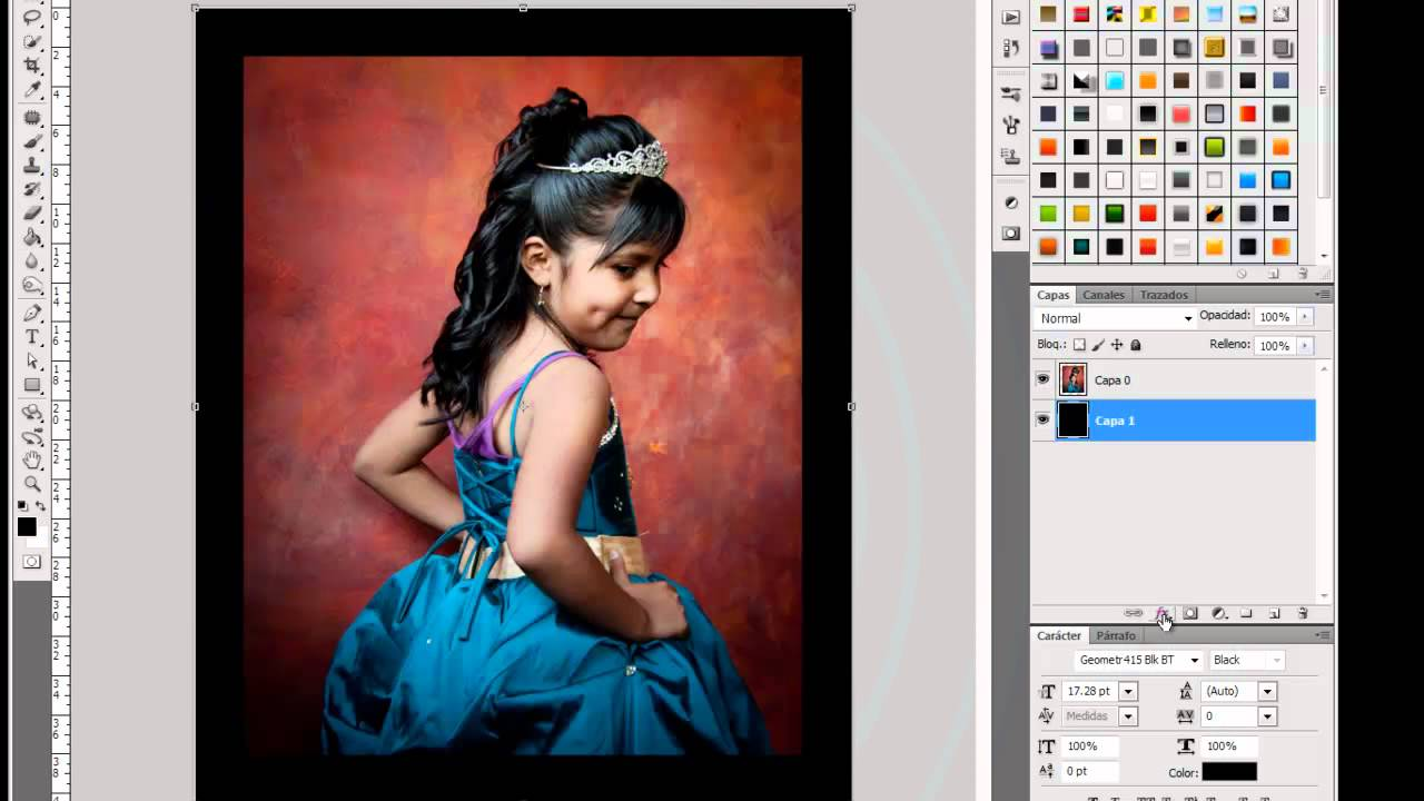 Crear Marco de Madera Photoshop Facil by Yanko0 - YouTube