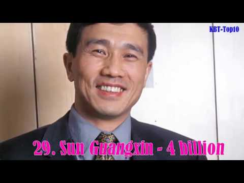 Top 50 Richest People in China in 2015