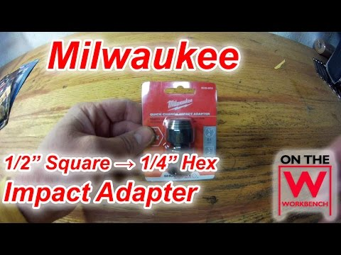 chuck adapter for impact driver