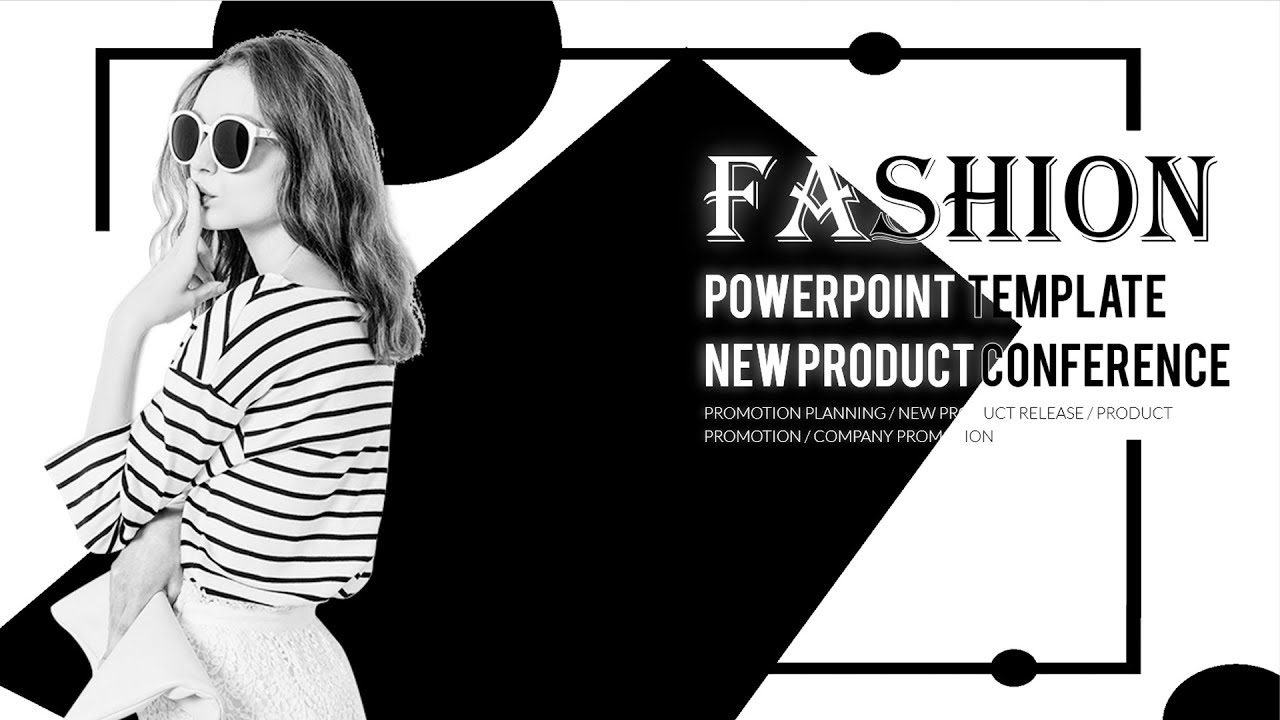 Best Fashion Powerpoint Template Download 2019