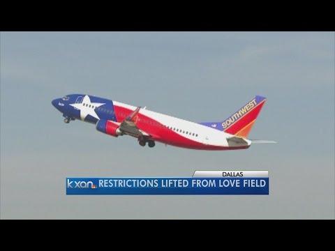 Airlines start longer flights from Dallas Love Field