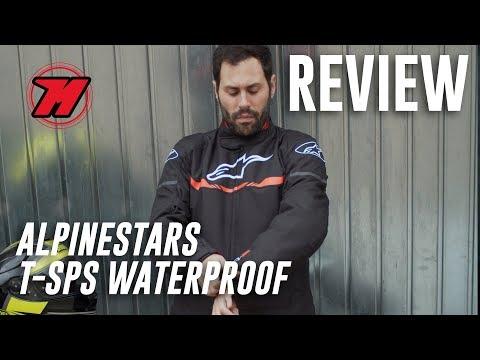 Review chaqueta de moto Alpinestars T-SPS Waterproof. ¡PARA TODO EL AÑO!