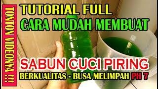 Cara membuat sabun cuci piring cair 5 liter PART \x5b HOW TO MAKE DISH SOAP \x5d   SB Pemula #2