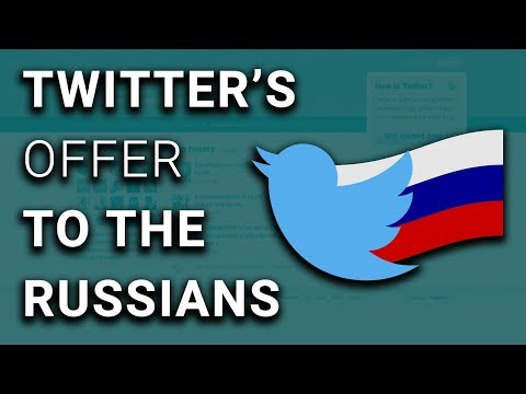 Twitter Offered Russian TV 15% of ALL Election Advertising