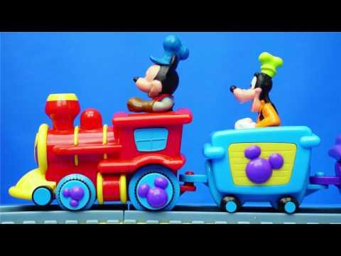 米奇妙妙屋 米老鼠的火車軌道 玩具 唐老鴨