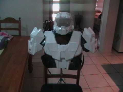 My FIRST Halo Armour - Pepakura