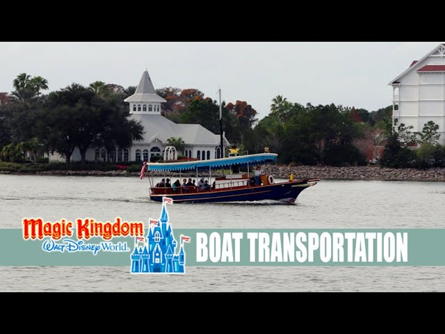 LIVE: Walt Disney World Magic Kingdom Boat Transportation