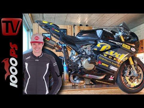 Traumbike mit WM-Auspuff - Ducati Panigale S - Betriebsprüfung Firma Parts World