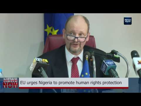 EU urges Nigeria to promote human rights protection