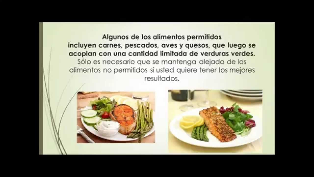 Dieta baja en azucar y grasas