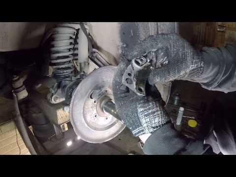 Замена ремонт шкворней на подшипники УАЗ.