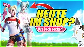 🔴Fortnite NEUER SHOP STREAM!❌FORTNITE SKINS CONTEST!❌Fortnite Live Deutsch