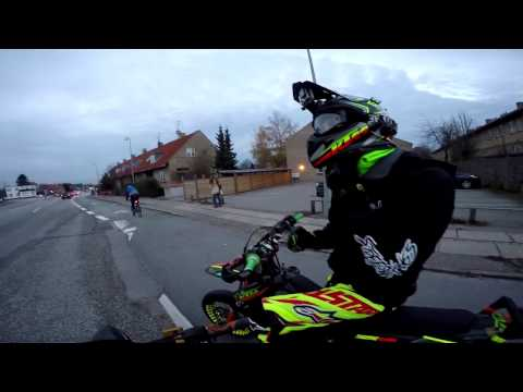 Wheelies in the cold ft. KHM