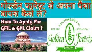 How to apply for Golden Forest & Golden Projects claim?||Golden Forest||Golden Forest Refund