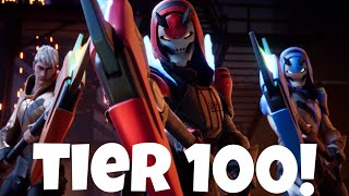 Fortnite: Tier 100! Season 9 - Battle Royale (Battle Pass Review)