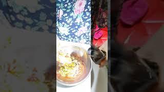 새콤한 비빔국수 양념장…