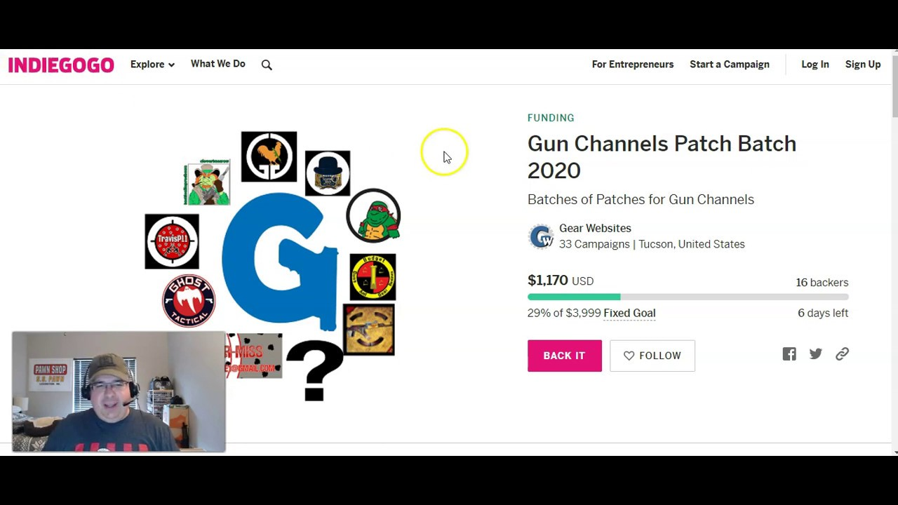 Gun Channels Patch Batch 2020!  What is this all about?